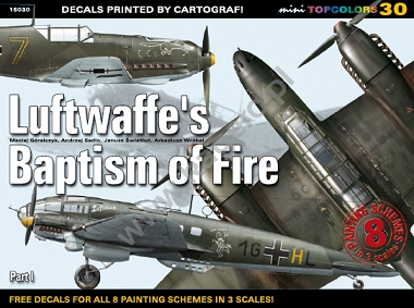 30 - Luftwaffe's Baptism of Fire Part I (kalkomania)