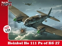 1/72 Heinkel He 111 Ps of KG 27 (kalkomanie)