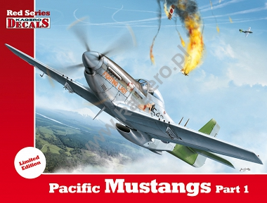 1/72 Pacific Mustangs Part 1 (kalkomanie)