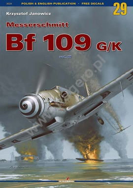 29 - Messerschmitt Bf 109 G/K vol. III (without decals)