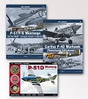 P-51/F-6 Mustangs with the USAAF Curtiss P-40 Warhawk Topshots Mustang