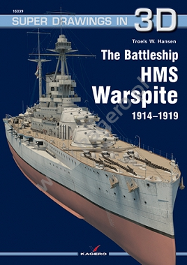 The Battleship HMS Warspite 1914–1919